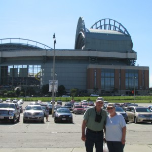 Our first Brewers Game June 29, 2014. Too bad they lost 10 to 4 to the Rockies.
